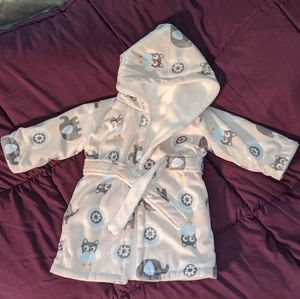 Super soft baby robe, new condition